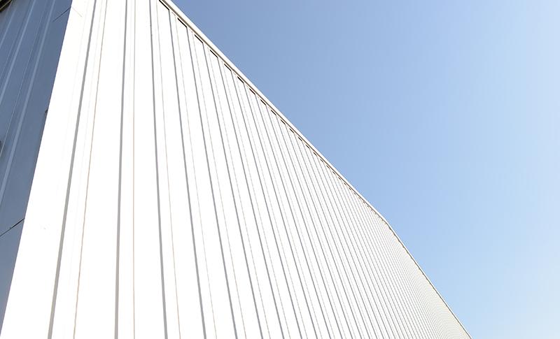 壁面の脱落防止策の施工