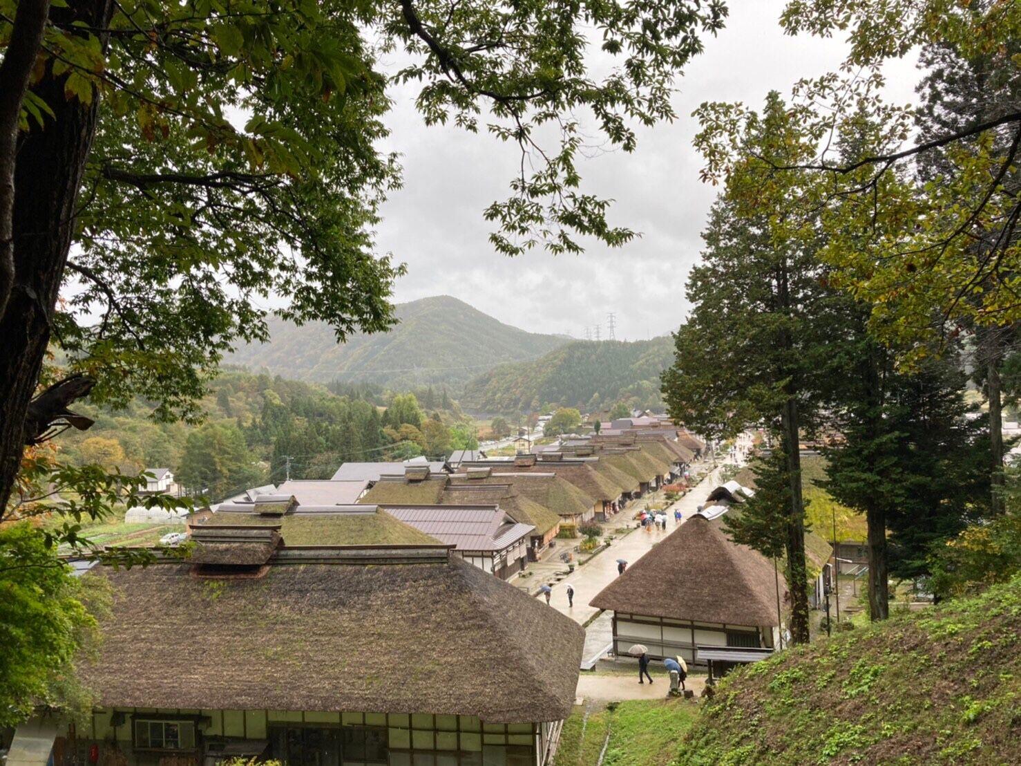 福島県南会津の大内宿