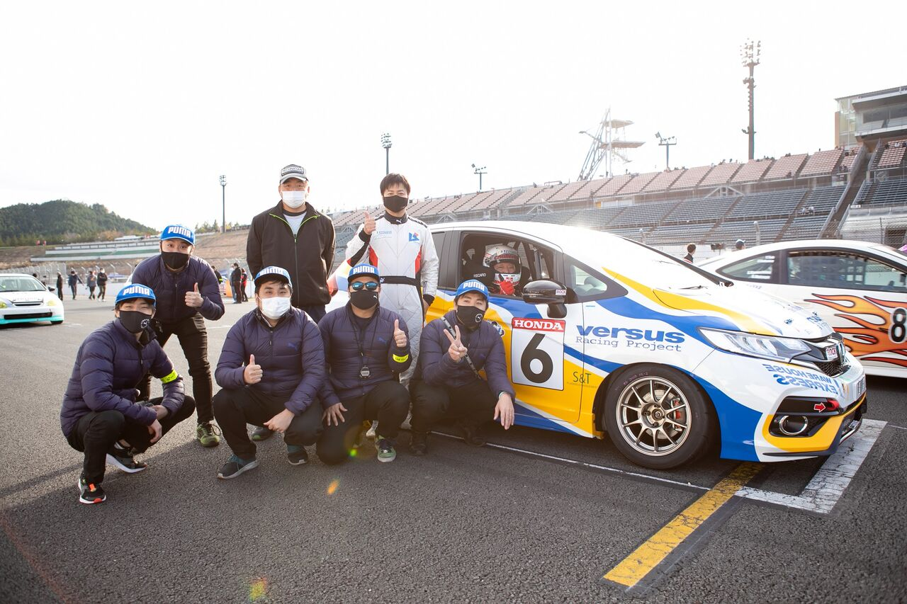 埼玉の倉庫会社のレースチーム