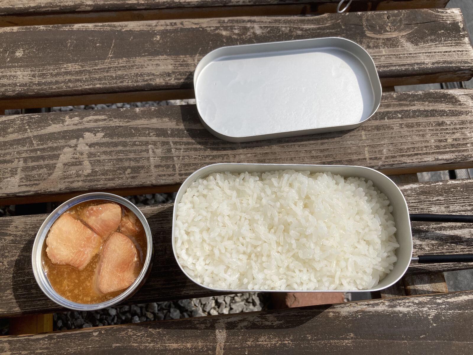 美味しくお米が炊けました