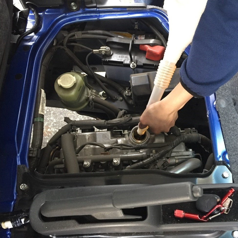 車のオイル交換