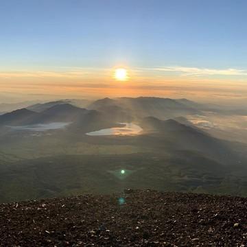 富士山に登ろう