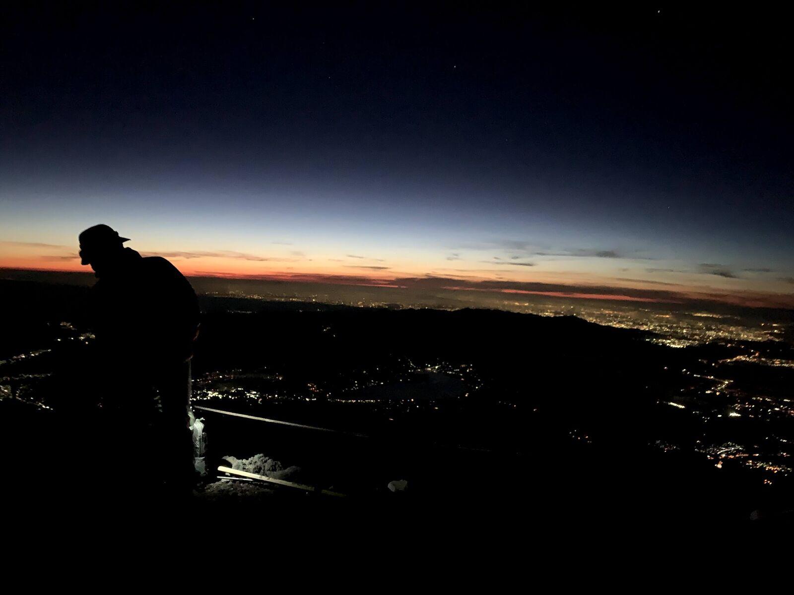 日の出の富士さん