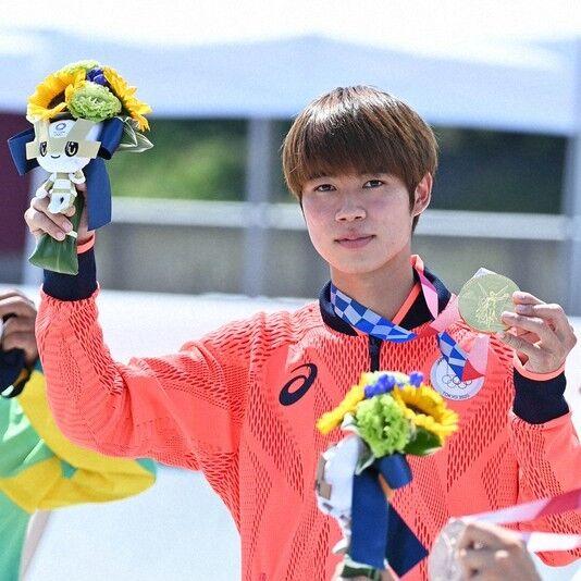東京オリンピック、スケートボード優勝